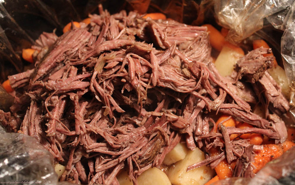 Shredded Pot Roast Recipe — Dishmaps